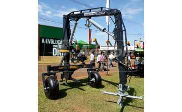 Guincho Agrícola Traseiro GTG-RO FLEX 2.000 kg / com Gancho p/ Descarga Hidráulico / com Engate para 4 alças – Baldan > Novo - Guincho Agrícola - Baldan - Agrobill - Tratores, Implementos Agrícolas, Pneus