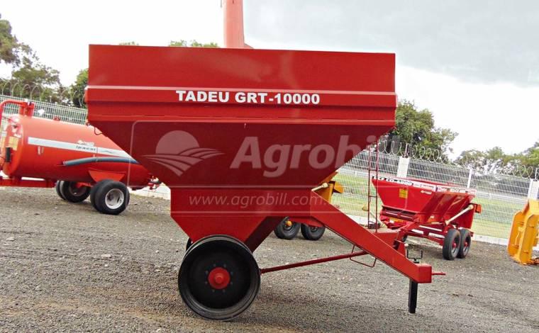 Carreta Graneleira 10 Toneladas GRT 10000 / sem Pneus – Tadeu > Nova - Carreta Agrícola Graneleira / Bazuka / Transportadora de Grãos / Multiuso - Tadeu - Agrobill - Tratores, Implementos Agrícolas, Pneus