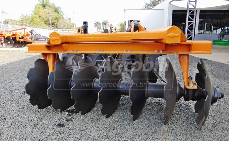 Grade Aradora Pesada GTCR 14 Discos / Baldan – Usada - Grades Aradoras - Baldan - Agrobill - Tratores, Implementos Agrícolas, Pneus