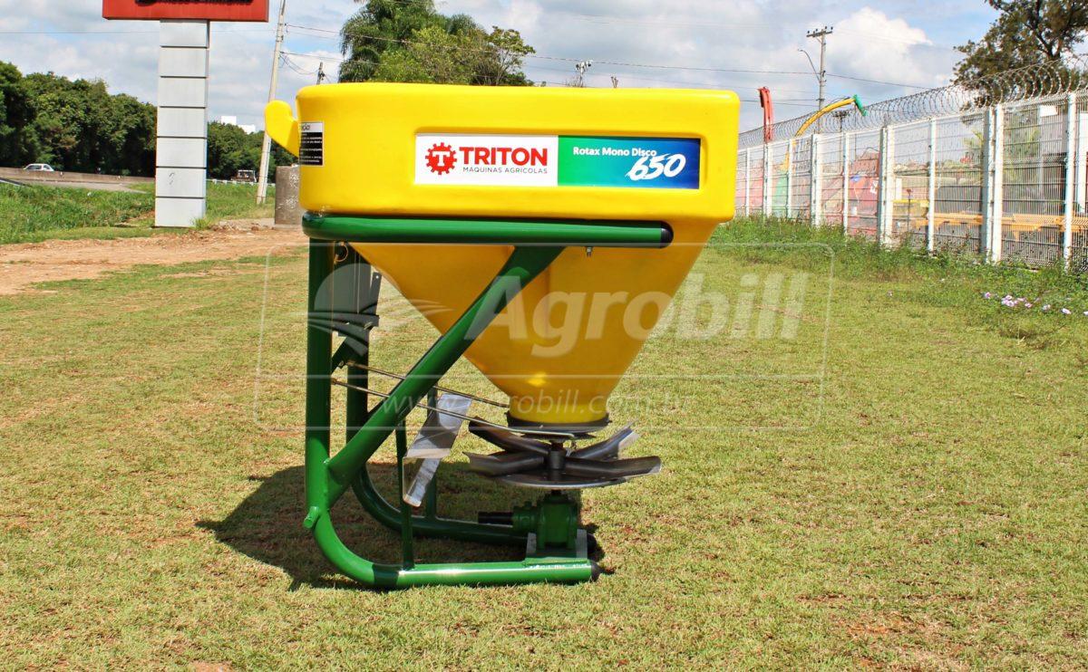Distribuidor Semeador Rotax Mono 650 / Acionamento por Alavanca – Triton > Novo - Distribuidor de Calcário - Triton - Agrobill - Tratores, Implementos Agrícolas, Pneus