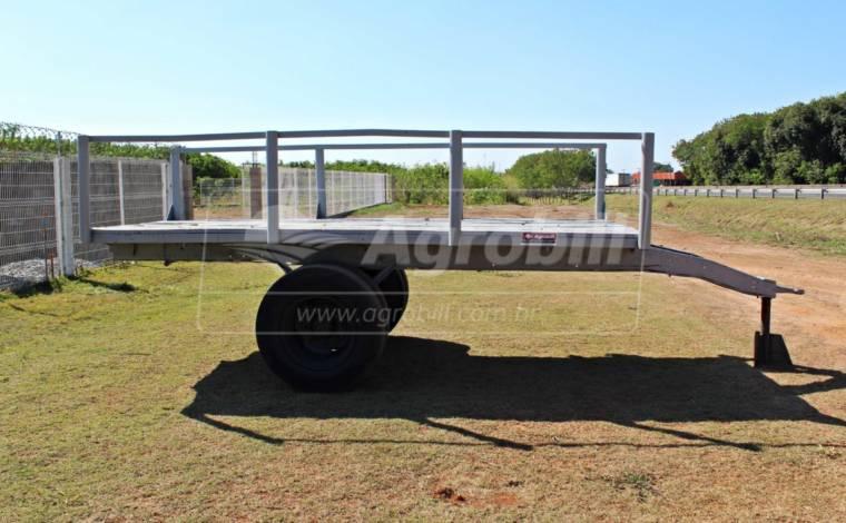 Carreta para Plantio de Cana 6 Toneladas de Ferro / com Assoalho de Madeira > Usada -  - Personalizado - Agrobill - Tratores, Implementos Agrícolas, Pneus