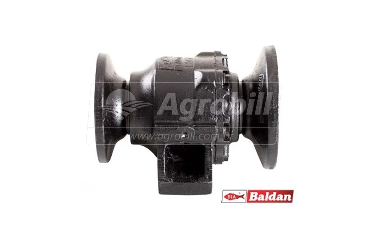 Mancal Axial para Grade Pesada / Eixo 2.1/4 / Espaçamento 330 mm > Novo - Discos e Mancais - Baldan - Agrobill - Tratores, Implementos Agrícolas, Pneus