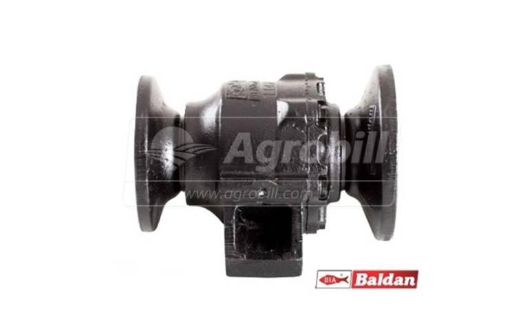 Mancal Axial para Grade Leve / Eixo 1.5/8 / Espaçamento 247 mm > Novo - Discos e Mancais - Baldan - Agrobill - Tratores, Implementos Agrícolas, Pneus