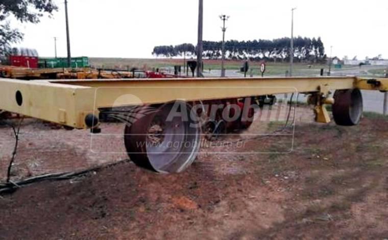 Ponte Rolante com Talha 3 Toneladas / 10 m > Usada - Equipamentos Diversos - Personalizado - Agrobill - Tratores, Implementos Agrícolas, Pneus