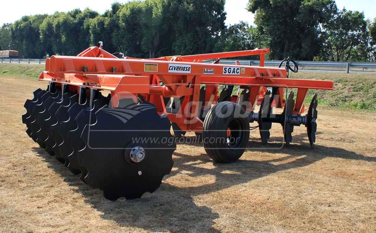 Grade Aradora Super Pesada SGAC 18 x 34″ – Civemasa > Nova - Grades Aradoras - Civemasa - Agrobill - Tratores, Implementos Agrícolas, Pneus