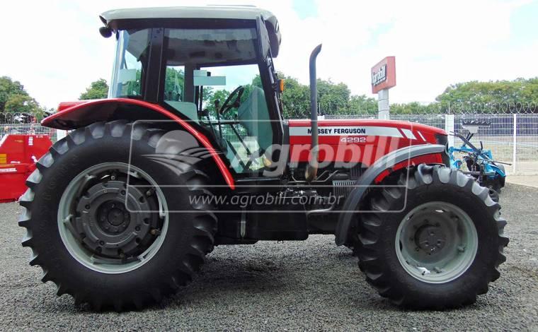 Trator Massey 4292 HD 4×4 ano 2013 com 1470 horas - Tratores - Massey Ferguson - Agrobill - Tratores, Implementos Agrícolas, Pneus