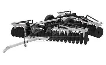 Grade Niveladora Controle Remoto Articulada NVAP 56 x 22″x 3.5 x 175mm / com Discos Recortados – Baldan > Nova - Grades Niveladoras - Baldan - Agrobill - Tratores, Implementos Agrícolas, Pneus