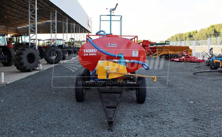 Tanque de Água 4.000 Litros com Kit Multi Tarefas – Tadeu > Novo - Tanque de Água - Tadeu - Agrobill - Tratores, Implementos Agrícolas, Pneus