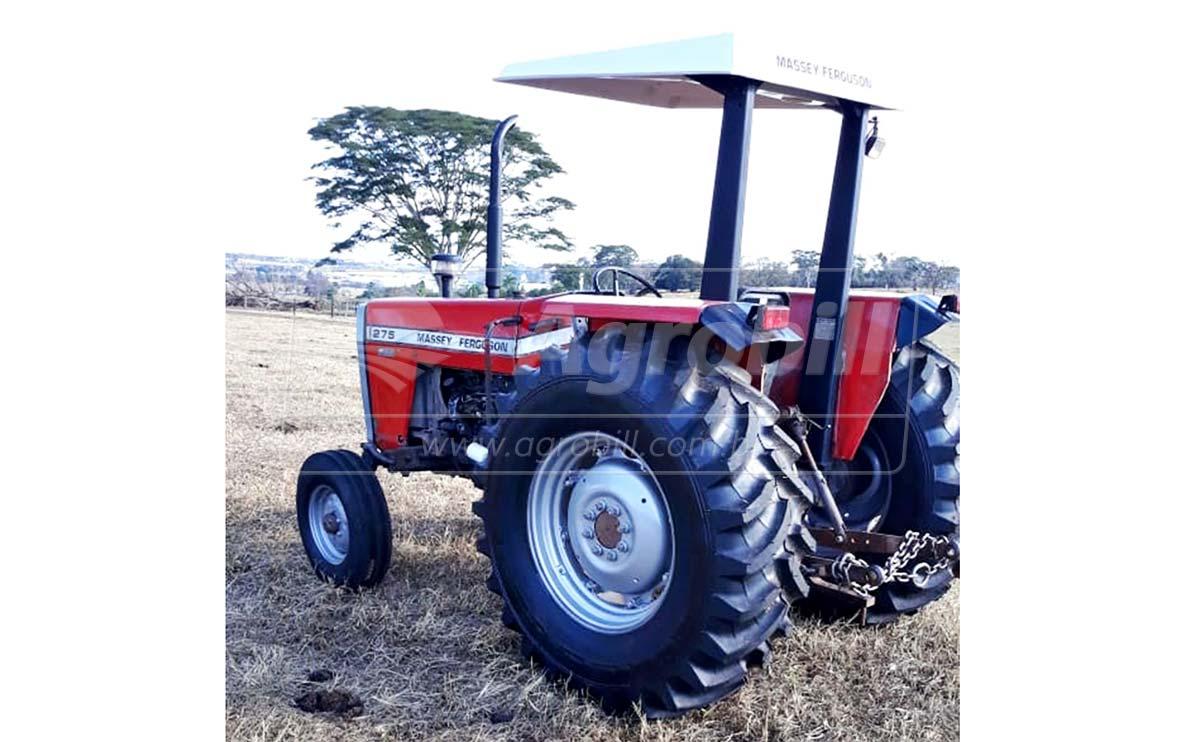 Trator Massey 275 4×2 ano1993 cambio 3 alavancas 12 velocidades - Tratores - Massey Ferguson - Agrobill - Tratores, Implementos Agrícolas, Pneus