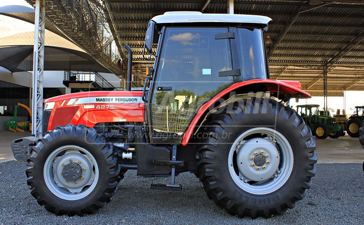 Trator Massey 4275 4×4 ano 2017 com 509 horas semi novo - Tratores - Massey Ferguson - Agrobill - Tratores, Implementos Agrícolas, Pneus