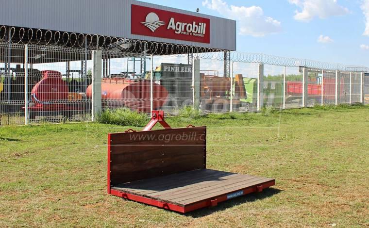Plataforma Traseira 1,50 x 1,00 m – ACJ > Nova - Plataforma Traseira - ACJ - Agrobill - Tratores, Implementos Agrícolas, Pneus