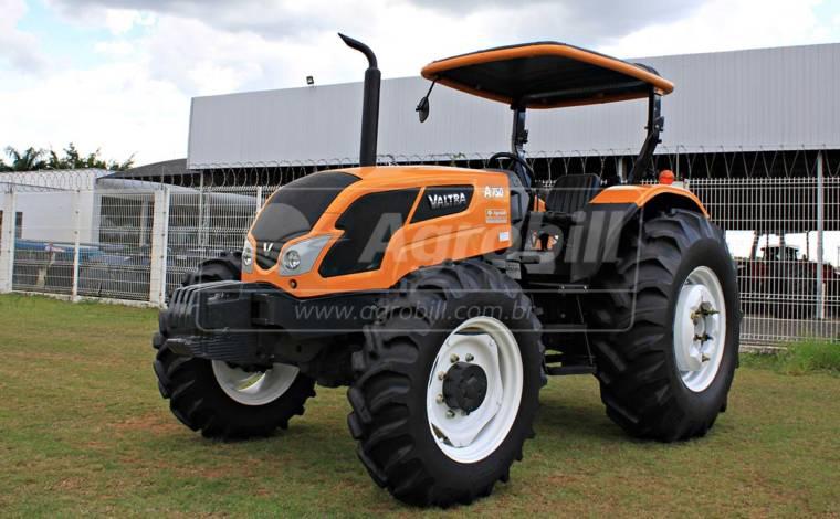 Trator Valtra A 750 4×4 ano 2016 semi novo com 346 horas de uso - Tratores - Valtra - Agrobill - Tratores, Implementos Agrícolas, Pneus