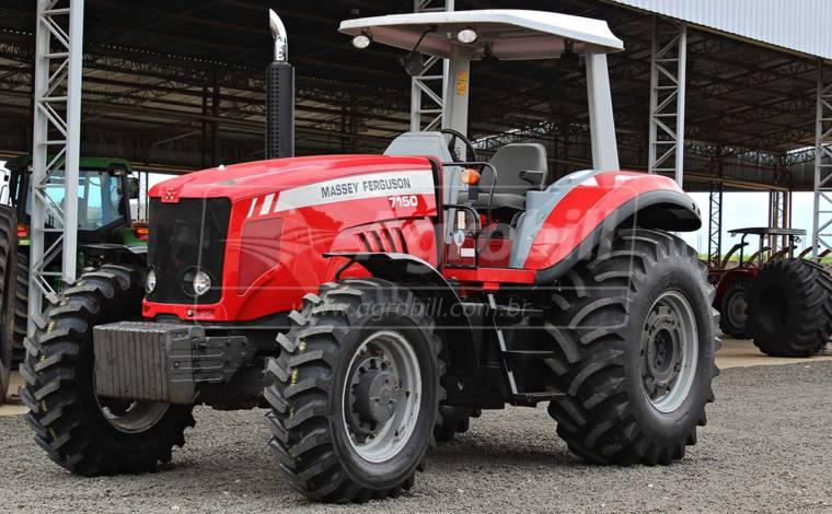 Trator Massey 7150 4×4 ano 2009 com 3714 horas de uso (Preço avista sem financiamento) - Tratores - Massey Ferguson - Agrobill - Tratores, Implementos Agrícolas, Pneus