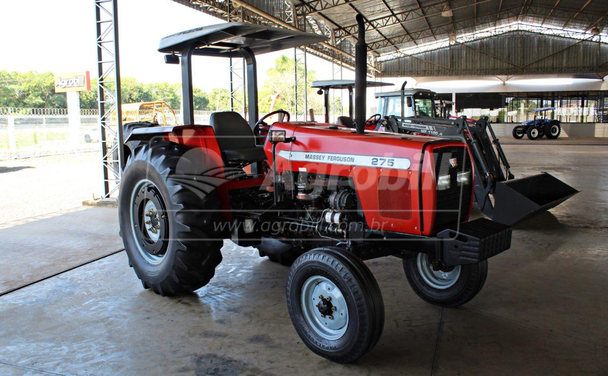 Trator Massey 275 4×2 Advanced ano 2003 - Tratores - Massey Ferguson - Agrobill - Tratores, Implementos Agrícolas, Pneus