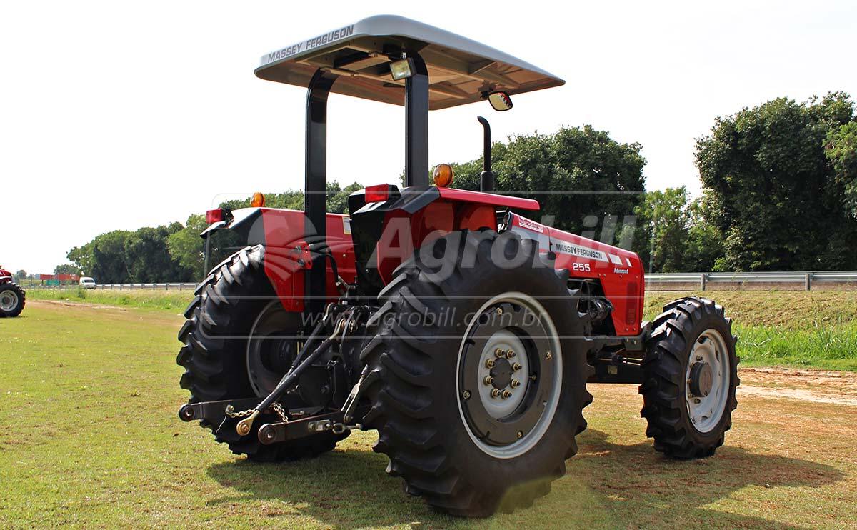 Trator Massey 255 4×4 Advanced ano 2012 com 2415 horas - Tratores - Massey Ferguson - Agrobill - Tratores, Implementos Agrícolas, Pneus