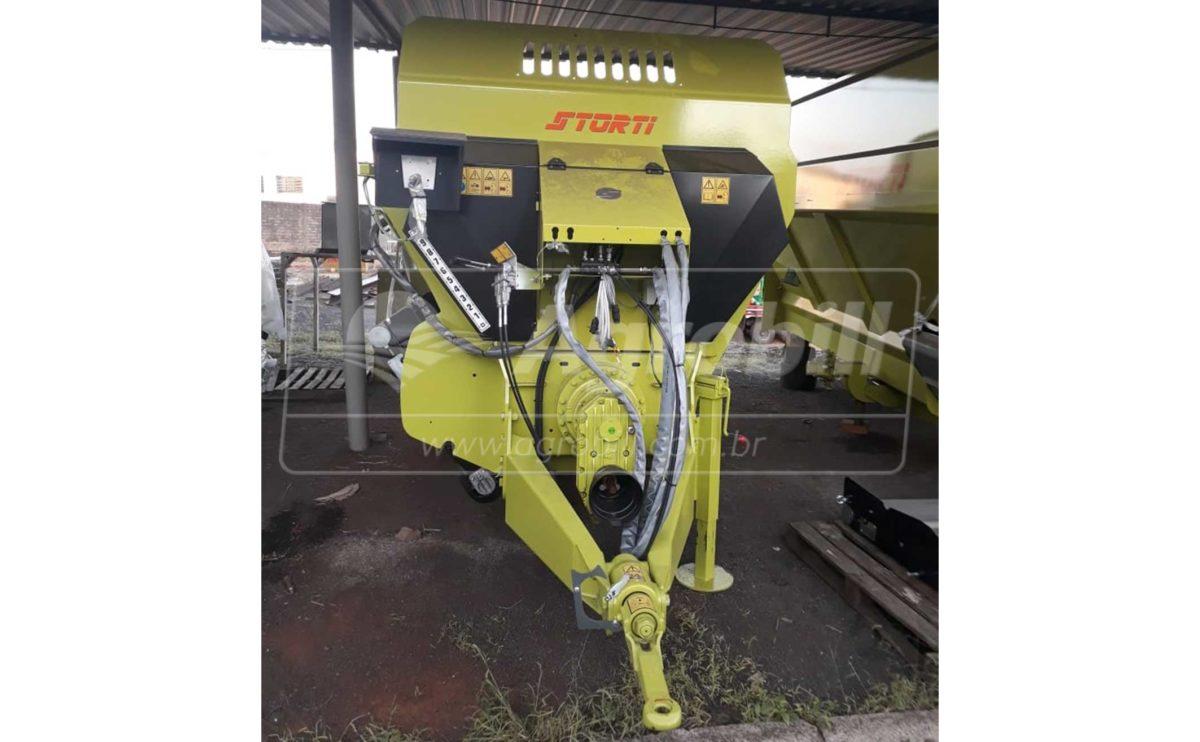 Vagão Misturador Storti Husky 12 m³ / com Balança / sem Desensilador – JF > Novo - Vagão Misturador - JF - Agrobill - Tratores, Implementos Agrícolas, Pneus