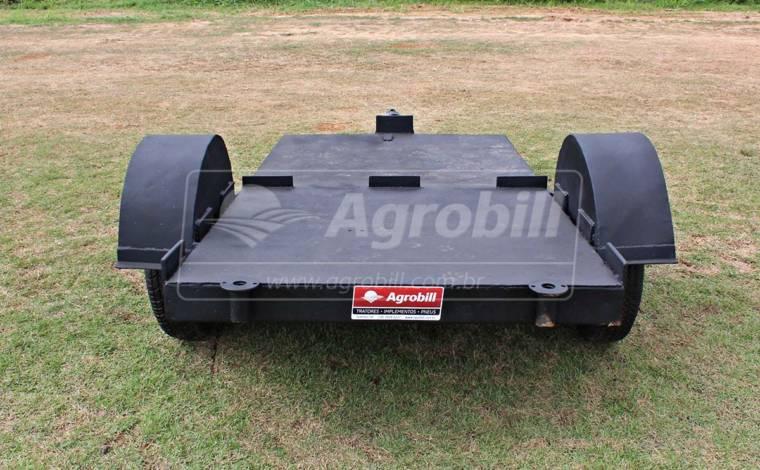 Carreta Prancha de Ferro > Usada - Carreta Agrícola Metálica - Personalizado - Agrobill - Tratores, Implementos Agrícolas, Pneus