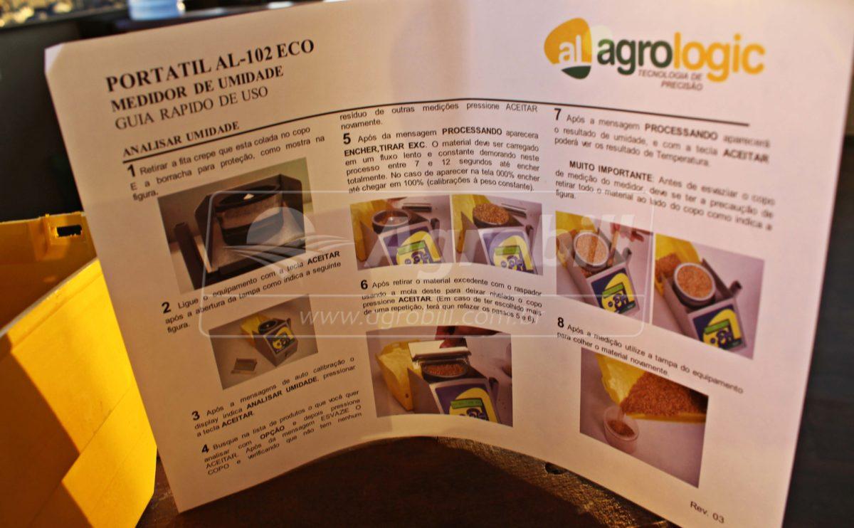 Medidor Portátil de Umidade de Grãos – Agrologic *Frete Grátis para Todo Brasil* - GPS Agrícola e Medidor de Umidade - Agrologic - Agrobill - Tratores, Implementos Agrícolas, Pneus