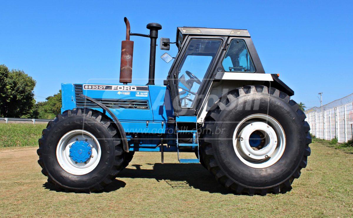 Trator New Holland 8830 4×4 ano 1994 com 4489 horas com Redutor de velocidade (creeper) - Tratores - New Holland - Agrobill - Tratores, Implementos Agrícolas, Pneus