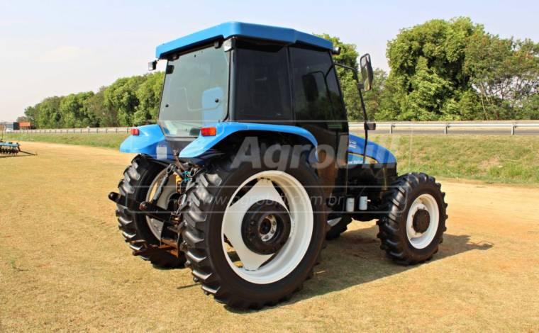 Trator New Holland TL 75 E 4×4 ano 2012  Cabinado bem conservado - Tratores - New Holland - Agrobill - Tratores, Implementos Agrícolas, Pneus