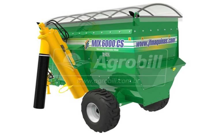 Vagão Misturador JF Mix 6000 CS com Balança > Novo - Vagão Misturador - JF - Agrobill - Tratores, Implementos Agrícolas, Pneus