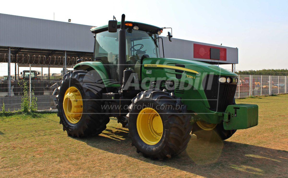 John Deere 7230 4×4 ano 2018 Semi novo com apenas 351 horas - Tratores - John Deere - Agrobill - Tratores, Implementos Agrícolas, Pneus