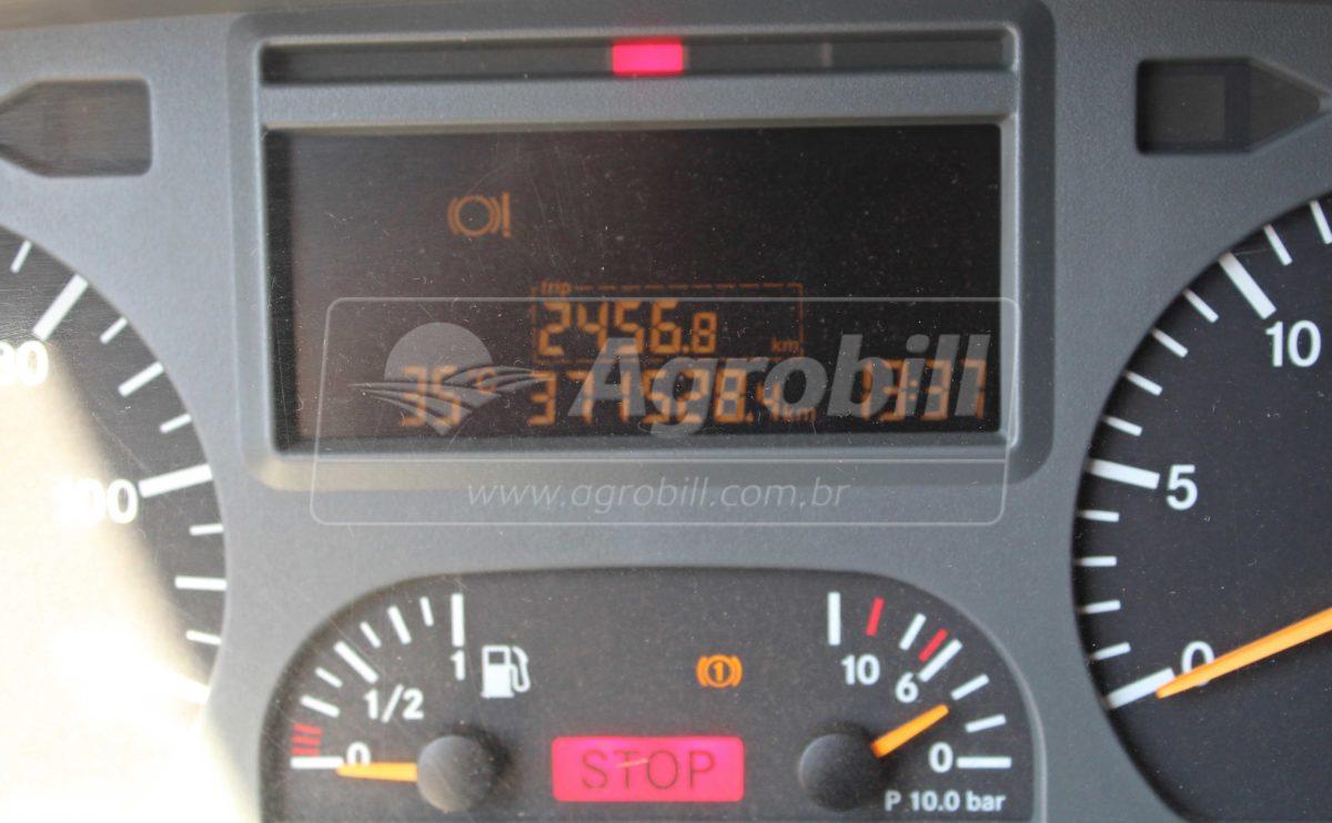 Caminhão MB 2428 6×2 ano 2009 com Roll On Roll Off Grimaldi GR 25 c/ Caçamba Agricola de 26m³ - Caminhões - Mercedes-Benz - Agrobill - Tratores, Implementos Agrícolas, Pneus