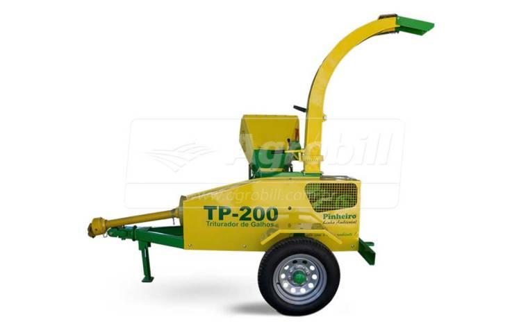 Triturador de Galhos TP-200 / Rodeiro – Pinheiro > Novo - Triturador - Pinheiro - Agrobill - Tratores, Implementos Agrícolas, Pneus
