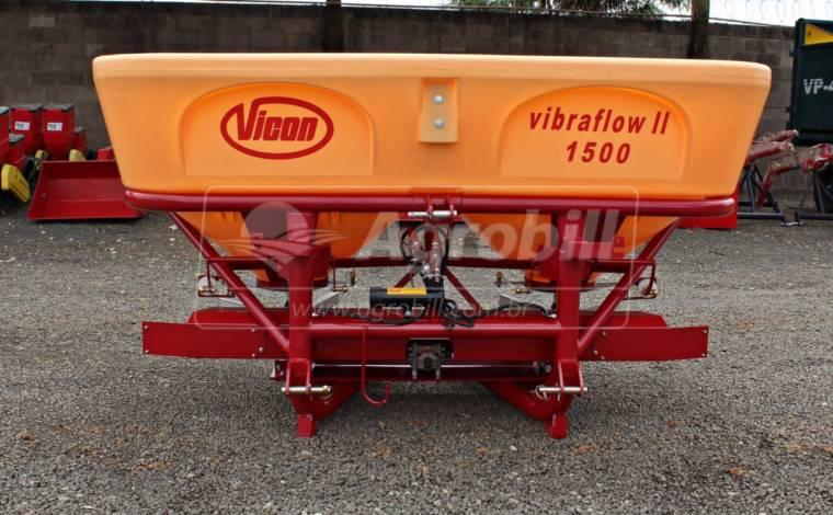 Distribuidor Semeador Vibraflow II / Acionamento Hidráulico – Vicon > Novo - Distribuidor de Calcário - Vicon - Agrobill - Tratores, Implementos Agrícolas, Pneus