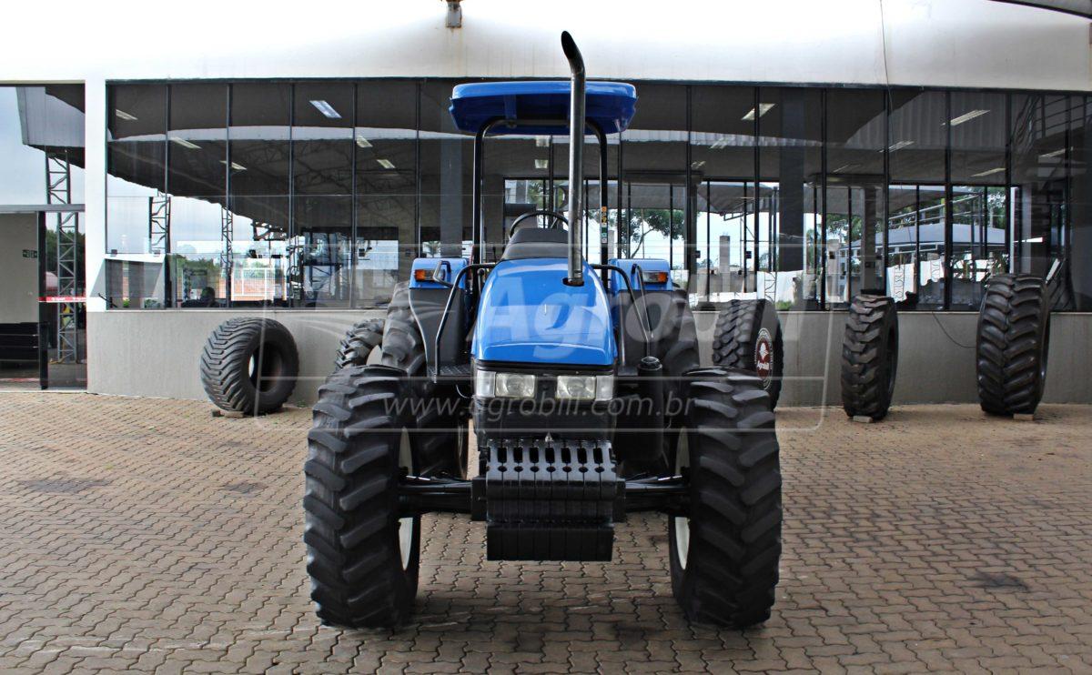New Holland TL 85 E 4×4 ano 2006 Motor MWM - Tratores - New Holland - Agrobill - Tratores, Implementos Agrícolas, Pneus
