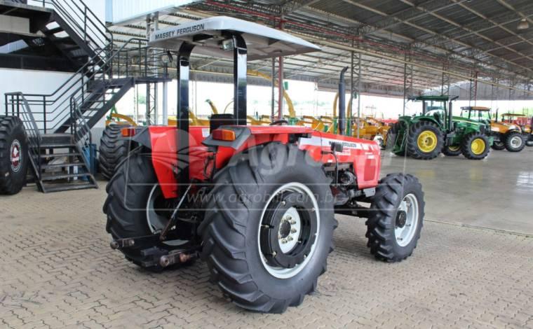 Trator 275 4×4 Advanced ano 2008 - Tratores - Massey Ferguson - Agrobill - Tratores, Implementos Agrícolas, Pneus