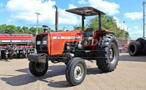 Trator 275 4×2 Advanced ano 2004 cambio 3 alavancas todo original - Tratores - Massey Ferguson - Agrobill - Tratores, Implementos Agrícolas, Pneus