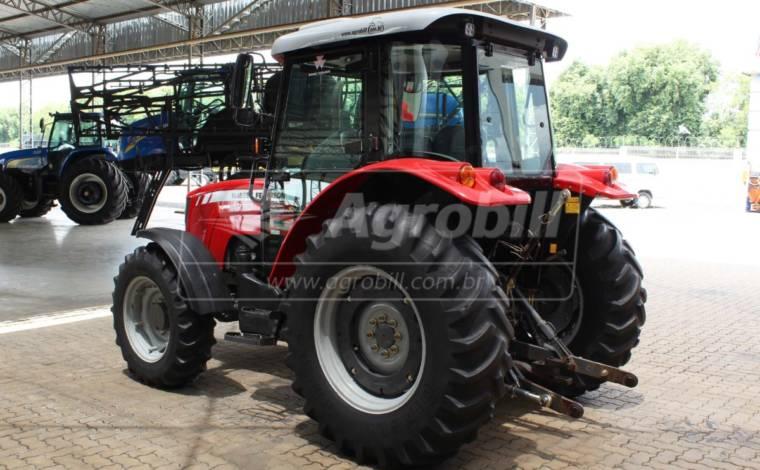 Trator Massey 4283 4×4 ano 2014 cabine original com Ar condicionado - Tratores - Massey Ferguson - Agrobill - Tratores, Implementos Agrícolas, Pneus