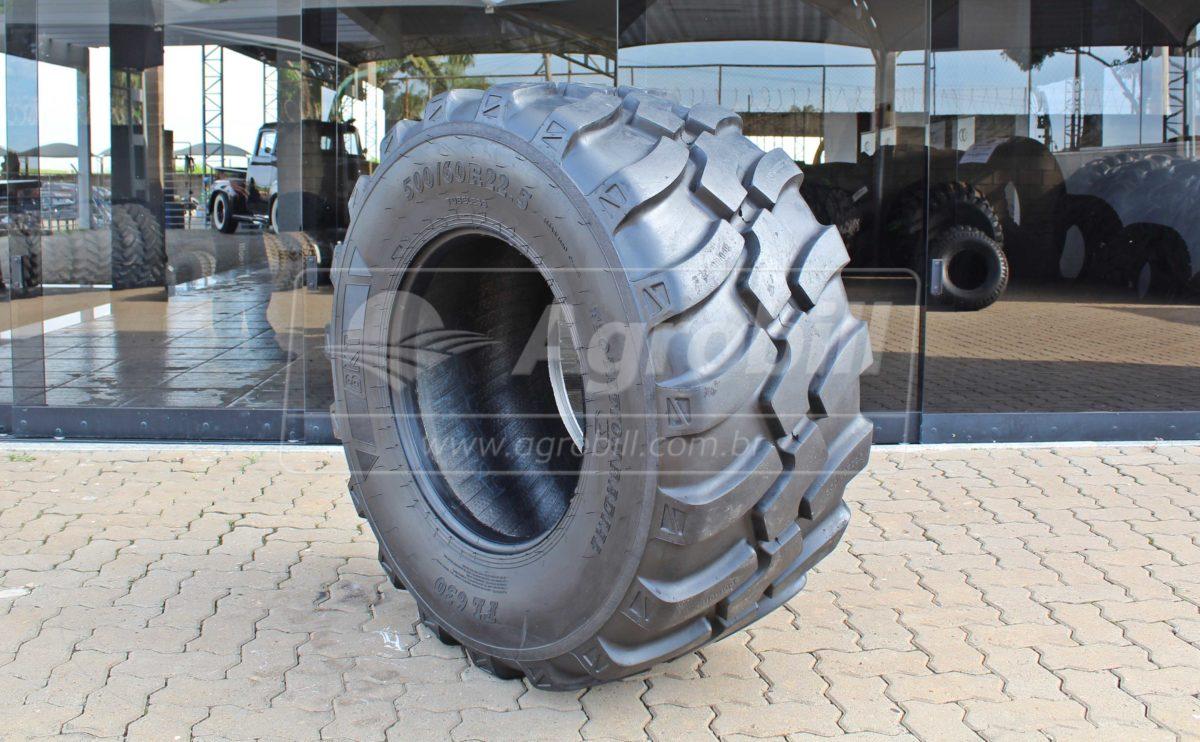 Pneu 500/60×22.5 / Radial – BKT – FL 630 - 500/60x22.5 - BKT - Agrobill - Tratores, Implementos Agrícolas, Pneus