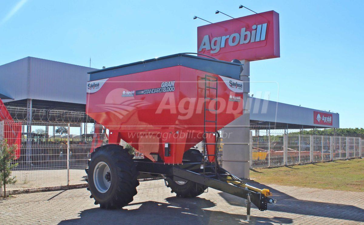 Carreta Graneleira Gran Standard 13.000 litros / com Pneus 23.1 x 26 – São José > Nova - Carreta Agrícola Graneleira - São José - Agrobill - Tratores, Implementos Agrícolas, Pneus