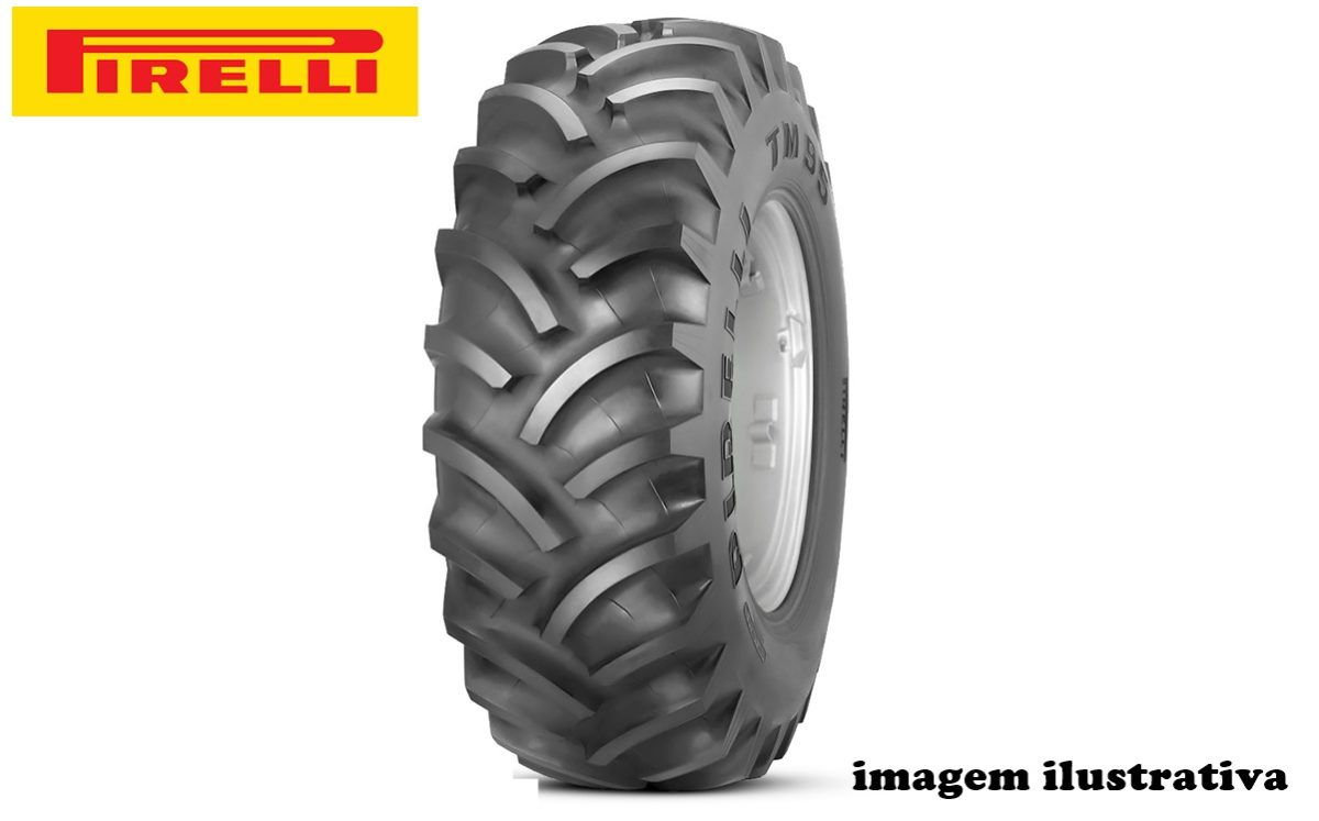 Pneu 20.8×38 / 10 Lonas – Pirelli – TM 95 > Novo - 20.8x38 - Pirelli - Agrobill - Tratores, Implementos Agrícolas, Pneus