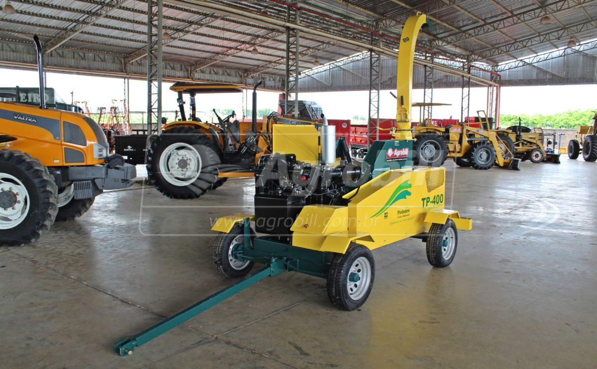 Triturador de Galhos TP-400 / Rodeiro à Diesel – Pinheiro > Novo - Triturador - Pinheiro - Agrobill - Tratores, Implementos Agrícolas, Pneus