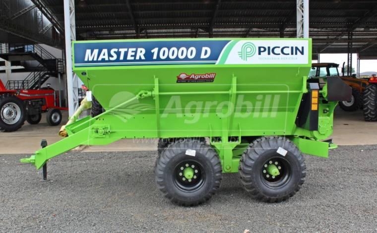 Distribuidor de Calcário, Fertilizantes e Compostos Orgânicos Master-D 10000 – Piccin > Novo - Distribuidor de Calcário - Piccin - Agrobill - Tratores, Implementos Agrícolas, Pneus