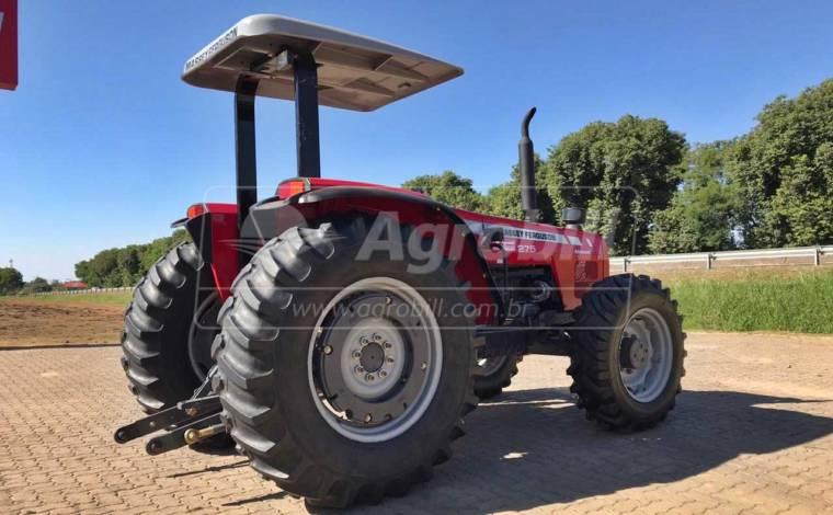 Trator Massey 275 4×4 Advanced ano 2009 - Tratores - Massey Ferguson - Agrobill - Tratores, Implementos Agrícolas, Pneus