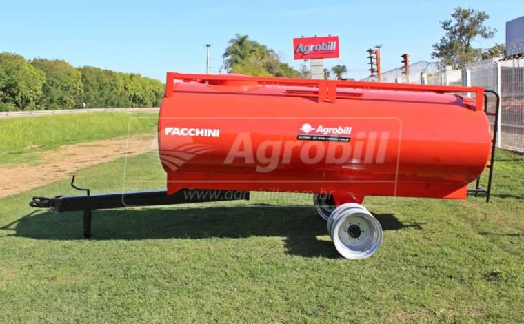 Reboque Agrícola Tanque de Água 3400 L / 1 Eixo Rodado Duplo / Sem Pneus – Facchini > Novo - Tanque de Água - Facchini - Agrobill - Tratores, Implementos Agrícolas, Pneus