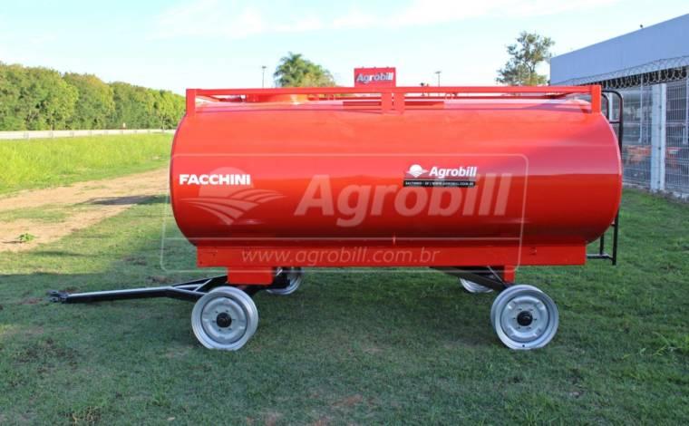 Reboque Agrícola Tanque de Água 5000 L / 2 Eixos / Sem Pneus – Facchini > Novo - Tanque de Água - Facchini - Agrobill - Tratores, Implementos Agrícolas, Pneus
