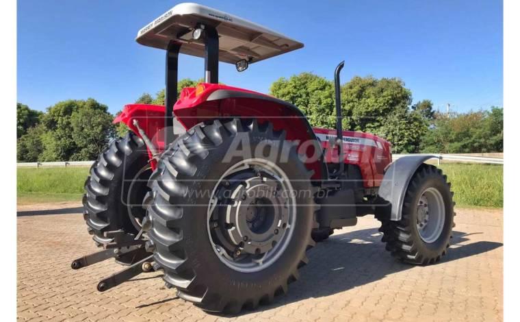 Trator Massey 4292 HD 4×4 ano 2017 com Creeper ( Redutor de Velocidade ) - Tratores - Massey Ferguson - Agrobill - Tratores, Implementos Agrícolas, Pneus