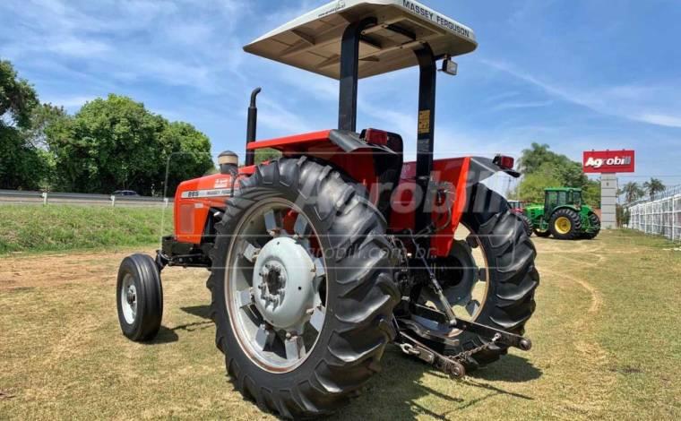 Trator Massey 265 4×2 Advanced ano 2005 em ótimo estado de conservação - Tratores - Massey Ferguson - Agrobill - Tratores, Implementos Agrícolas, Pneus