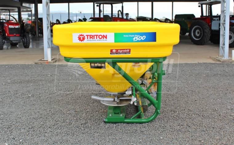 Distribuidor Semeador Rotax Disco Duplo 1500DD / Acionamento por Cabo – Triton > Novo - Distribuidor de Calcário - Triton - Agrobill - Tratores, Implementos Agrícolas, Pneus