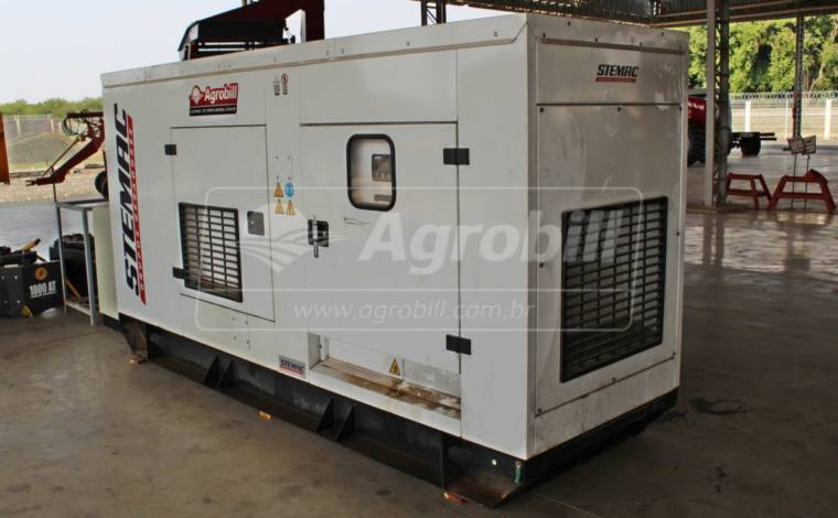 Gerador de Energia 150KWA – STEMAC > Usado - Veículos - STEMAC - Agrobill - Tratores, Implementos Agrícolas, Pneus