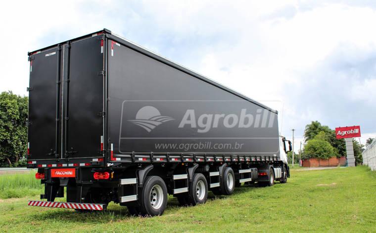 Carreta Sider 14,5 metros 3 eixos Distanciado s/ Pneus – FACCHINI 0KM - Sider - Facchini - Agrobill - Tratores, Implementos Agrícolas, Pneus