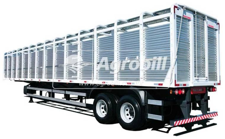 Carreta Boiadeira 15 metros c/ fechamento em Aluminio 2 eixos S/ Pneus – FACCHINI 0KM - Boiadeiras - Facchini - Agrobill - Tratores, Implementos Agrícolas, Pneus
