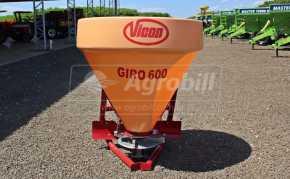 Distribuidor de Calcário Pendular 600 Litros Giro 600 – Vicon > Novo - Distribuidor de Calcário - Vicon - Agrobill - Tratores, Implementos Agrícolas, Pneus