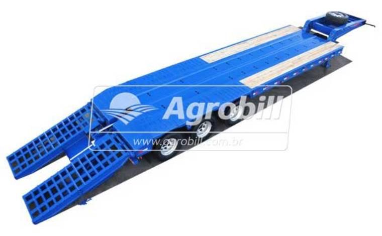 Prancha p/ 40 Toneladas 3 eixos s/ Pneus – FACCHINI 0KM - Pranchas - Facchini - Agrobill - Tratores, Implementos Agrícolas, Pneus