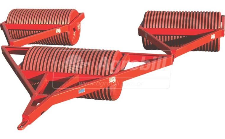 Rolo Destorroador Compactador RDC 3450 – Agrimec > Novo - Rolos Destorroador / Rolos Faca - AgriMec - Agrobill - Tratores, Implementos Agrícolas, Pneus
